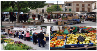 Weekly market in Algaida